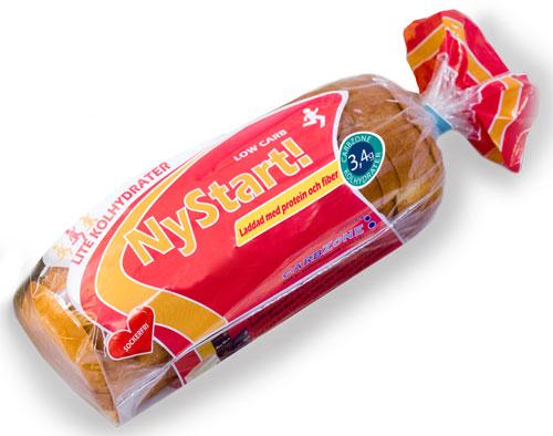 nystart bröd lchf